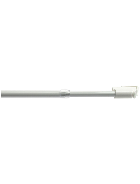 LIEDECO Gardinenstange  Länge 1350 mm, Ø 12 mm, kunststoff|metall