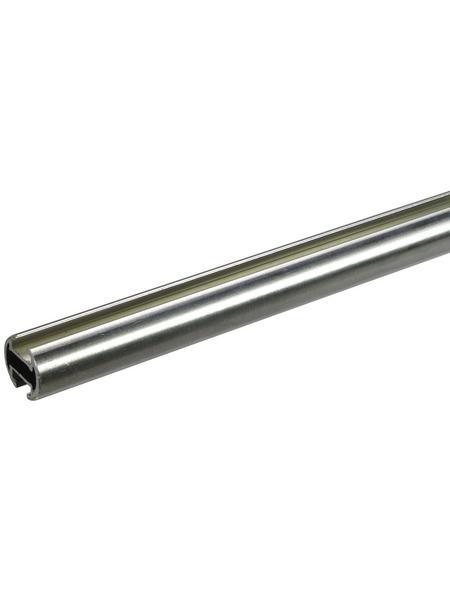 LIEDECO Gardinenstange  Länge 1600 mm, Ø 20 mm, aluminium