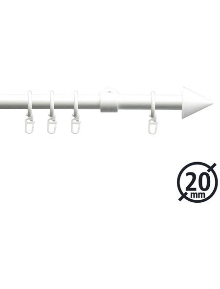 LIEDECO Gardinenstange  Länge 2000 mm, Ø 20 mm, kunststoff|metall