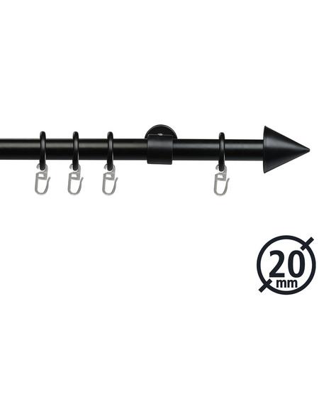 LIEDECO Gardinenstange  Länge 2000 mm, Ø 20 mm, kunststoff metall