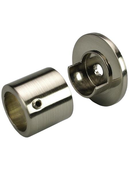 LIEDECO Gardinenstangen-Wandlager Ø 16 mm, Metall