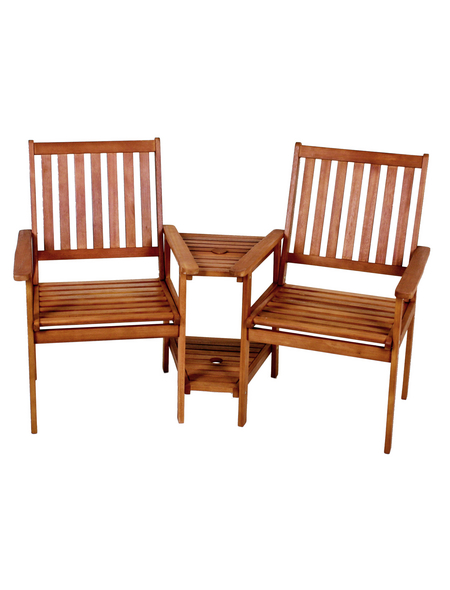 GARDEN PLEASURE Garten-Doppelsessel, 2 Sitzplätze