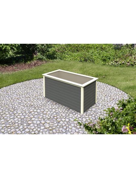KARIBU Garten-Fertigbausatz »Hochbeet«, B x L x H: 89 x 173 x 82 cm