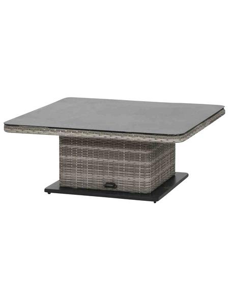 SIENA GARDEN Garten-Lifttisch »Navaro«, mit Spraystone-Tischplatte, BxTxH: x 115 x 73 cm