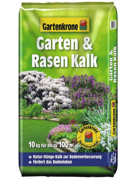 GARTENKRONE Garten-Rasenkalk 10 kg