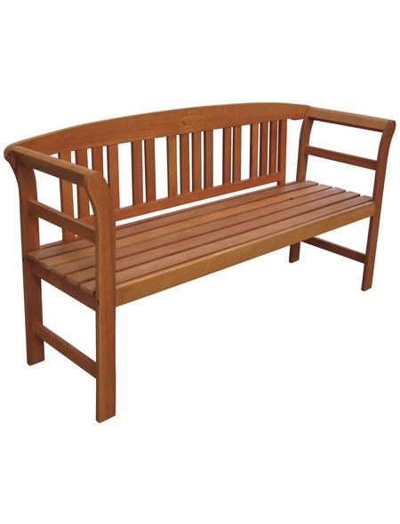 GARDEN PLEASURE Gartenbank »Harland«, 3-Sitzer, B x T x H: 157 x 45 x 83 cm