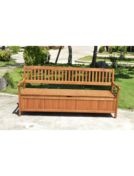 GARDEN PLEASURE Gartenbank »Houston«, 4-Sitzer, BxTxH: 187 x 59 x 90 cm