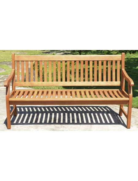GARDEN PLEASURE Gartenbank »New Jersey«, 3-Sitzer, BxTxH: 158 x 68 x 90 cm