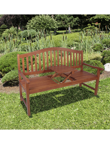 GARDEN PLEASURE Gartenbank »Phuket«, 3-Sitzer, B x T x H: 150 x 63 x 105 cm