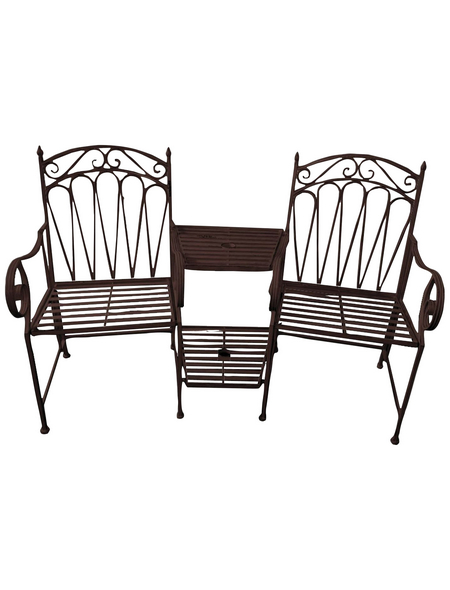 GARDEN PLEASURE Gartenbank »Rinjani«, 2-Sitzer, BxTxH: 157 x 70,5 x 99,5 cm