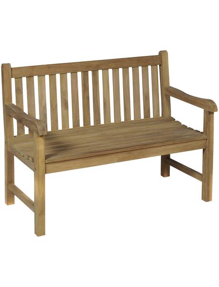 GARDEN PLEASURE Gartenbank »Solo«, 2-Sitzer, BxTxH: 120 x 63 x 93 cm
