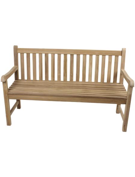 GARDEN PLEASURE Gartenbank »Solo«, 3-Sitzer, B x T x H: 150 x 63 x 92 cm
