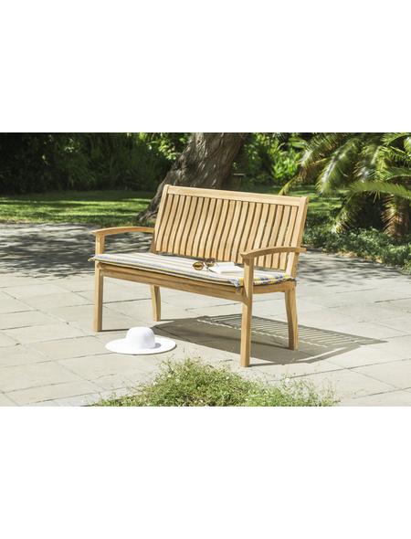 CASAYA Gartenbank »Somerville«, 2-Sitzer, BxTxH: 128 x 91,5 x 62 cm