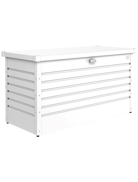 BIOHORT Gartenbox »FreizeitBox«, BxHxT: 134 x 71 x 62 cm, weiß