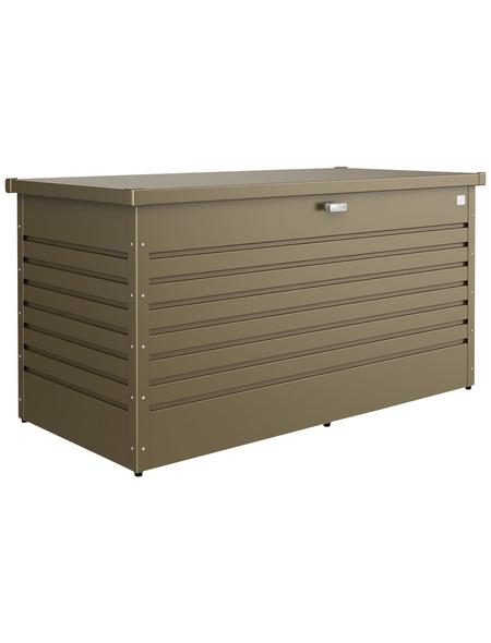 BIOHORT Gartenbox »FreizeitBox«, BxHxT: 159 x 83 x 79 cm, bronzefarben