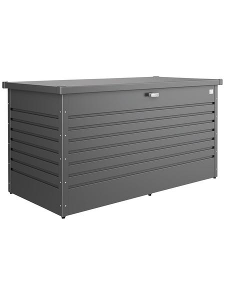 BIOHORT Gartenbox »FreizeitBox«, BxHxT: 159 x 83 x 79 cm, dunkelgrau-metallic
