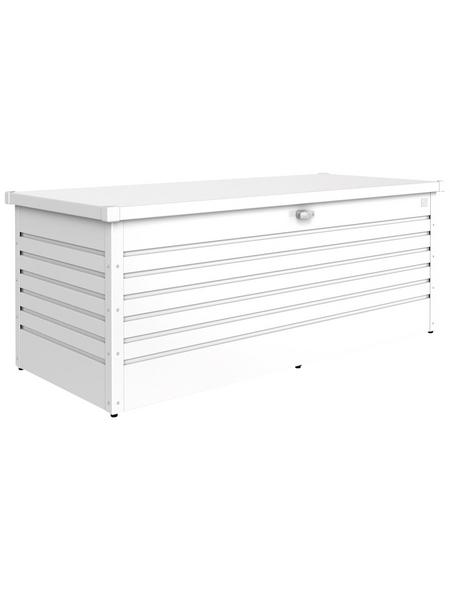 BIOHORT Gartenbox »FreizeitBox«, BxHxT: 181 x 71 x 79 cm, weiß