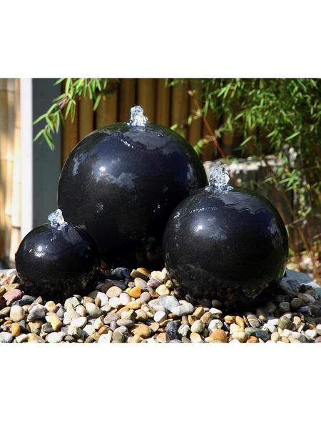 SILEX Gartenbrunnen, schwarz