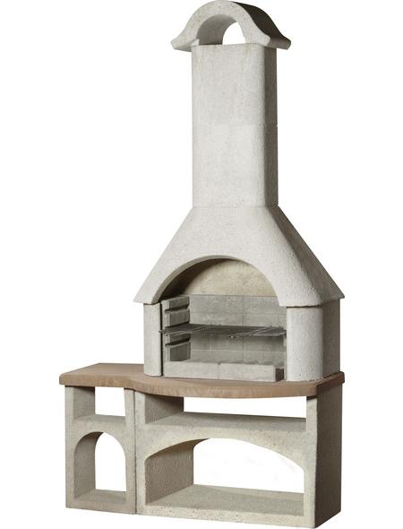 BUSCHBECK Gartengrillkamin »Bozen«, B x T x H: 117 x 64 x 210 cm