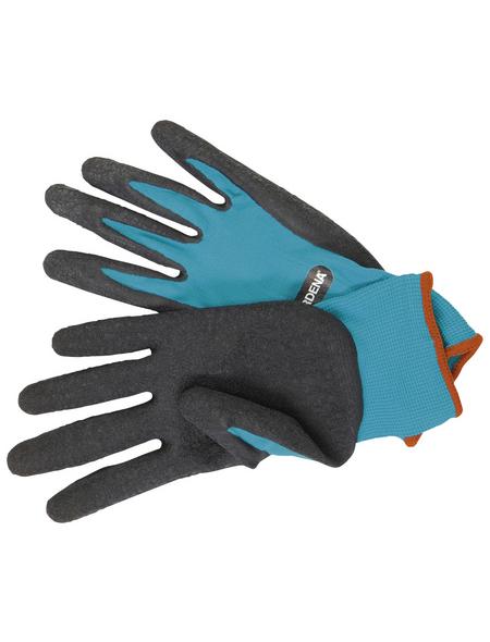 GARDENA Gartenhandschuhe, Größe: L(9), schwarz/tuerkis, KeraTect-glasiert