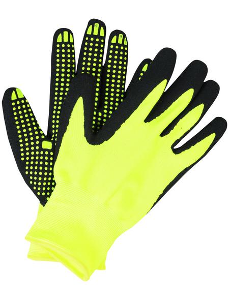 MR. GARDENER Gartenhandschuhe, Größe: M(8), gelb, Nitrilbeschichtet