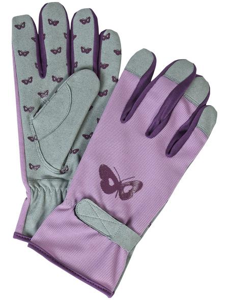 MR. GARDENER Gartenhandschuhe, Größe: S(7), rosa