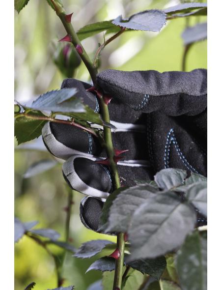 GARDENA Gartenhandschuhe, Größe: S(7), schwarzgrau, KeraTect-glasiert