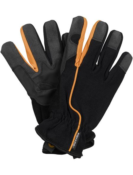 FISKARS Gartenhandschuhe, schwarz/orange
