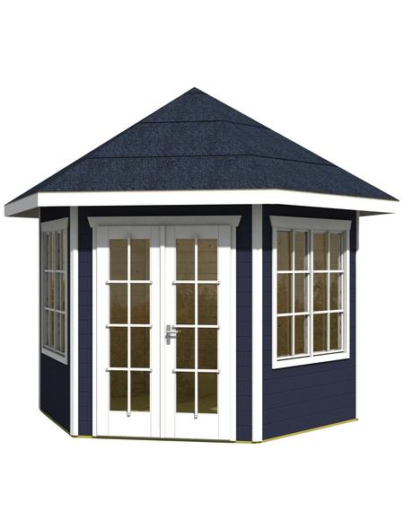 SKANHOLZ Gartenhaus »Almelo«, BxT: 420 x 373 cm (Aufstellmaße), Spitzdach