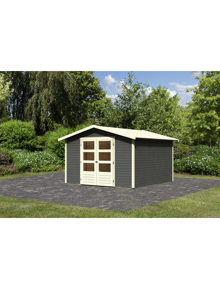 Gartenhaus »Amberg«, BxT: 305 x 303 cm (Außenmaße), Dachplatte