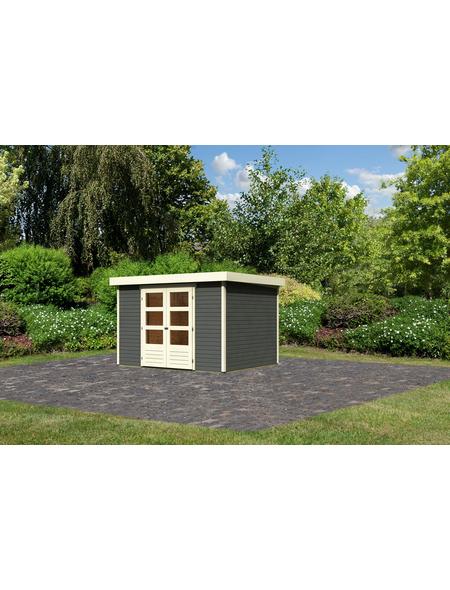 WOODFEELING Gartenhaus »Askola«, BxT: 330 x 262 cm (Aufstellmaße), Flachdach