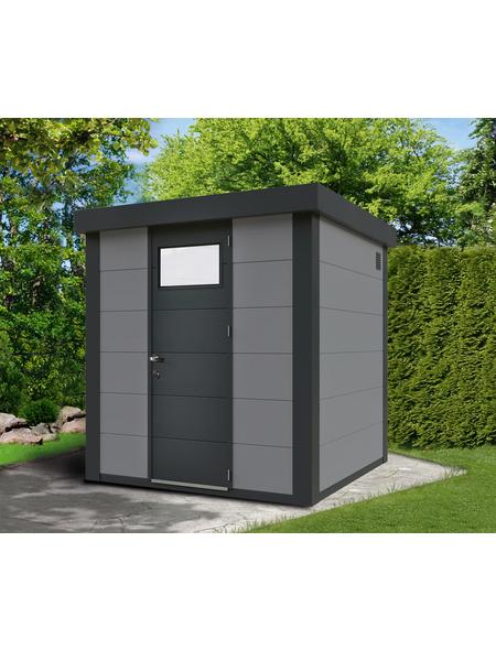 WOLFF FINNHAUS Gartenhaus, Außenmaße B x T: 208  x 208  cm