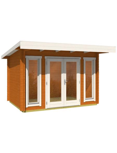 LASITA MAJA Gartenhaus »Barbados«, B x T: 390 x 350 cm, Flachdach
