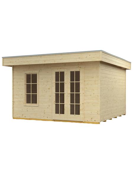 SKANHOLZ Gartenhaus »Breda 1«, BxT: 420 x 360 cm (Aufstellmaße), Flachdach