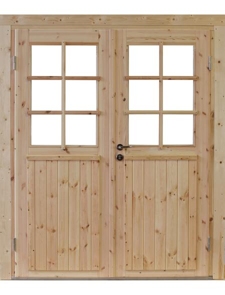 WOLFF Gartenhaus »Britta 34-C«, B x T: 300 x 410 cm