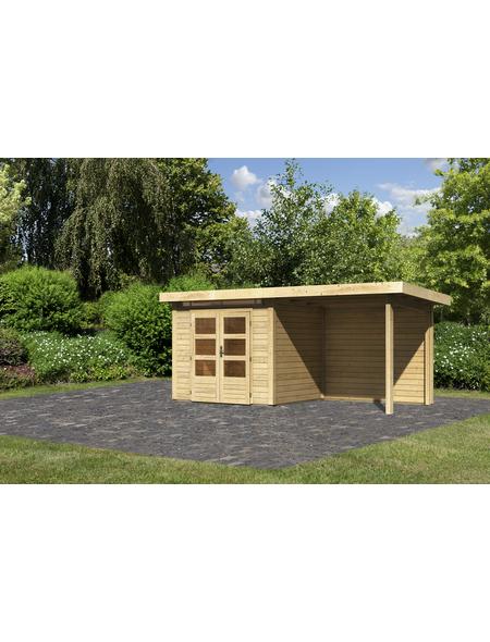 WOODFEELING Gartenhaus, BxT: 244 x 204 cm (Außenmaße), Massivholzdach