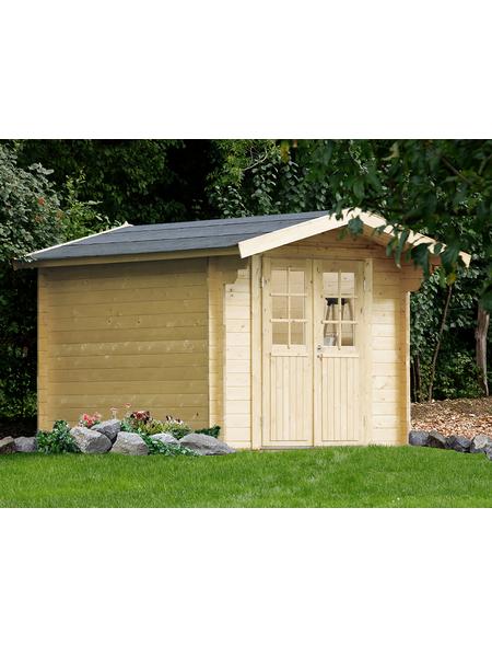WOLFF Gartenhaus, BxT: 300 x 410 cm (Aufstellmaße), Satteldach