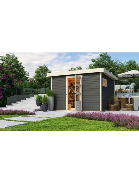 WOODFEELING Gartenhaus, BxT: 302 x 306 cm (Außenmaße), Dachplatte