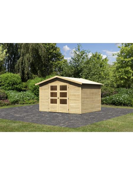 Gartenhaus, BxT: 305 x 246 cm (Außenmaße), Dachplatte