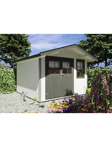 LUOMAN Gartenhaus BxT: 348cm x 366cm