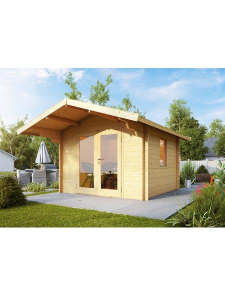 WOLFF Gartenhaus BxT: 360cm x 450cm