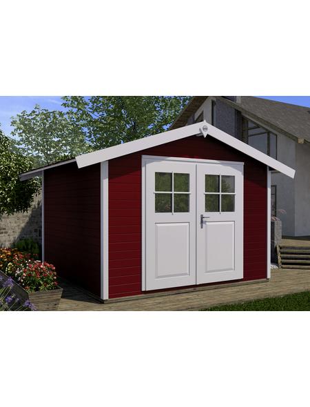WEKA Gartenhaus BxT: 380cm x 276cm