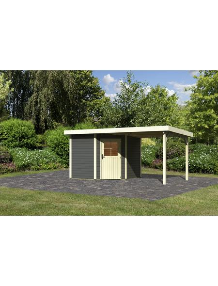 WOODFEELING Gartenhaus, BxT: 525 x 273 cm (Aufstellmaße), Flachdach