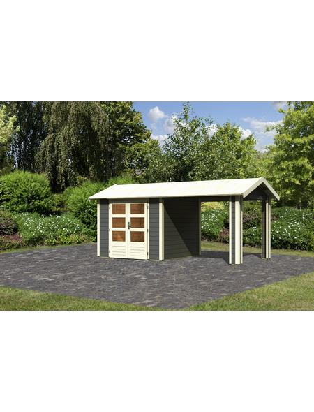 WOODFEELING Gartenhaus, BxT: 528 x 288 cm (Aufstellmaße), Satteldach