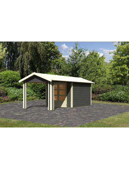 WOODFEELING Gartenhaus, BxT: 588 x 348 cm (Aufstellmaße), Satteldach
