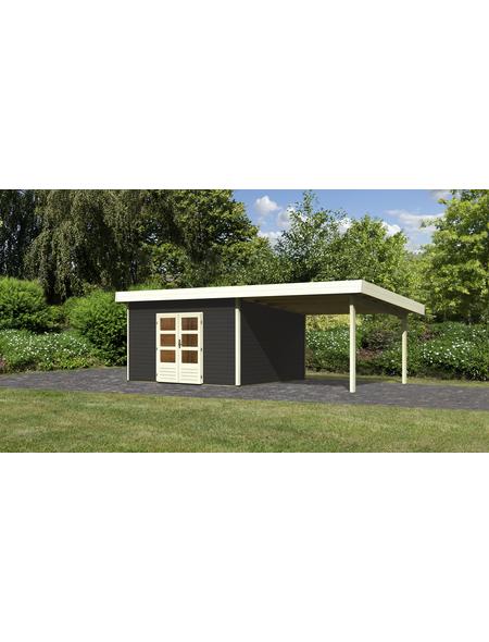 WOODFEELING Gartenhaus, BxT: 724 x 420 cm (Aufstellmaße), Pultdach
