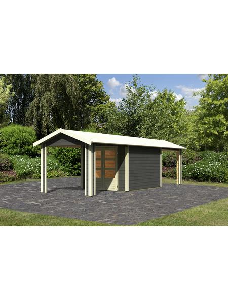 WOODFEELING Gartenhaus, BxT: 827 x 348 cm (Aufstellmaße), Satteldach