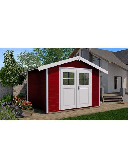 WEKA Gartenhaus »Casa«, B x T: 380 x 320 cm, Spitzdach