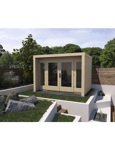 WEKA Gartenhaus »Design Gartenhaus 263 Gr.2«, BxT: 305 x 250 cm, Flachdach