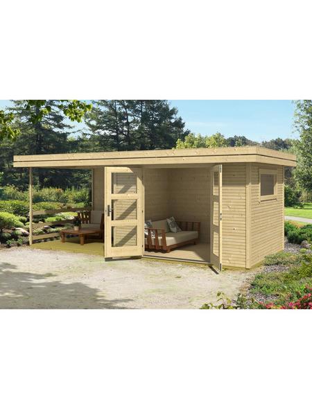 LASITA MAJA Gartenhaus »Faro«, BxT: 440cm x 310cm